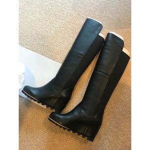 BRAND NEW SOREL Fiona over the knee black boot